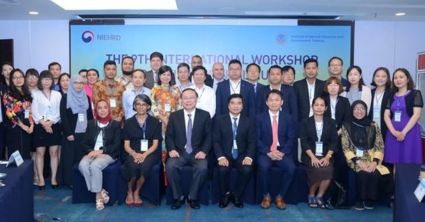 加强环境领域中人力资源开发的国际合作 hinh anh 2