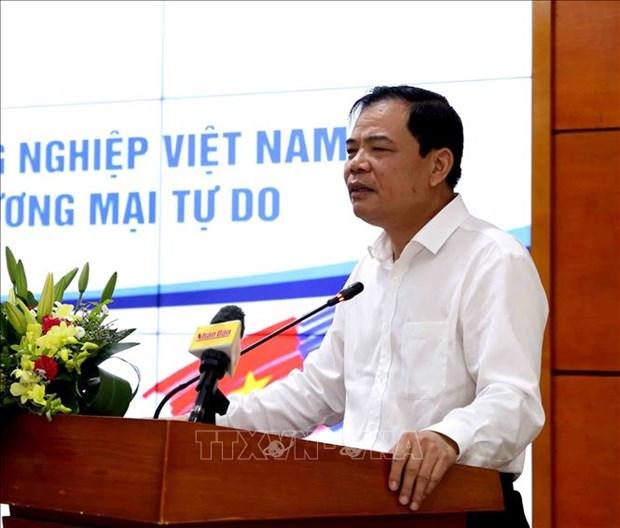 越南农业争取新一代自由贸易协定带来的机会 hinh anh 1
