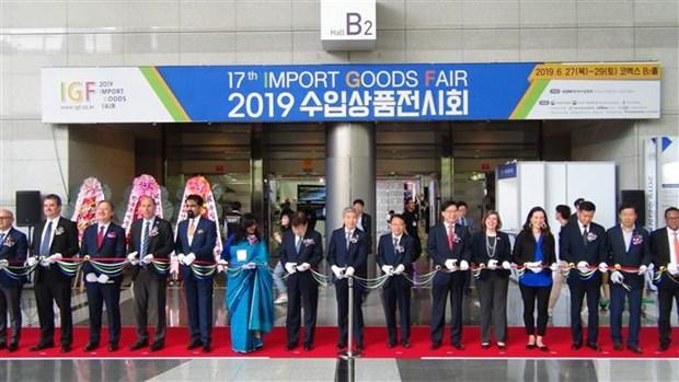 2019年韩国进口商品展览会—在韩越南企业的机会 hinh anh 1