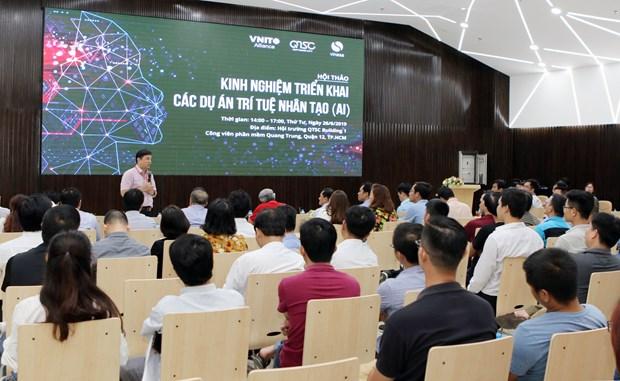 越南高度重视人工智能发展和应用 hinh anh 1
