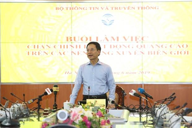 阮孟雄: 任何不遵守越南法律的跨国平台将绝对不会受到越南的欢迎 hinh anh 1