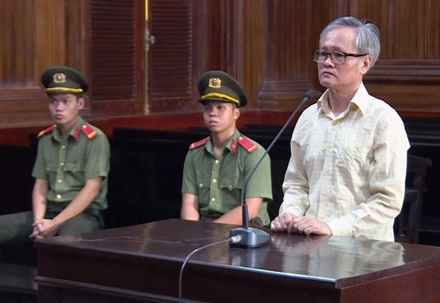 """恐怖组织""""临时越南国家政府""""的核心人员被判处有期徒刑八年 hinh anh 1"""