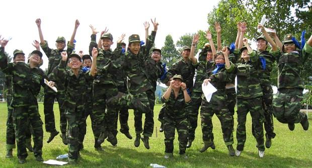 兵味十足的军事夏令营——小朋友暑假学习娱乐平台 hinh anh 1