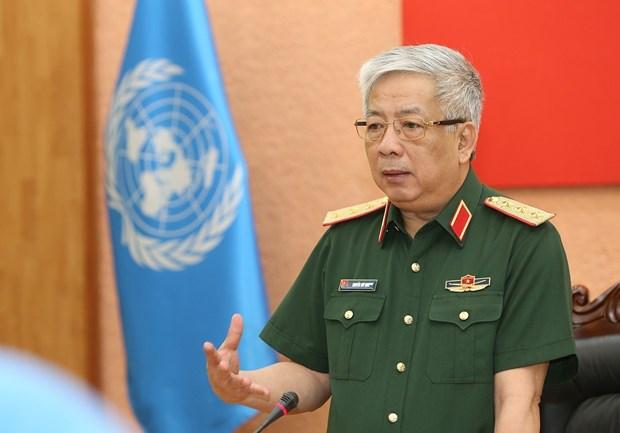 7名越南军官赴南苏丹和中非参与联合国维和行动 hinh anh 2