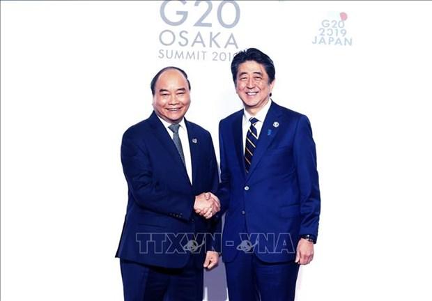 G20峰会:阮春福出席相关活动 hinh anh 1