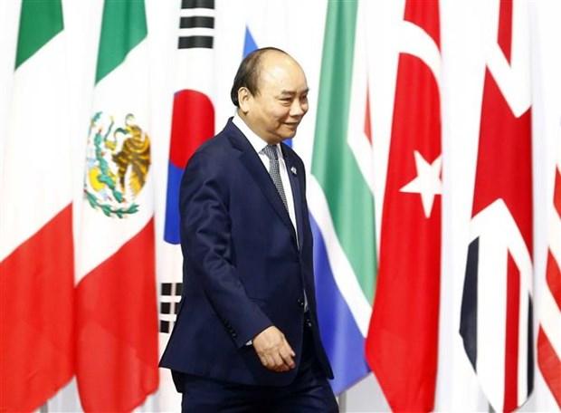 二十国集团领导人第十四次峰会开幕 hinh anh 2