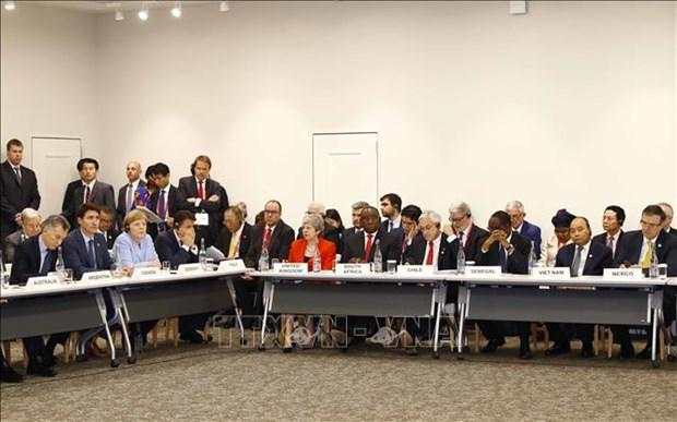 G20峰会:阮春福出席相关活动 hinh anh 3
