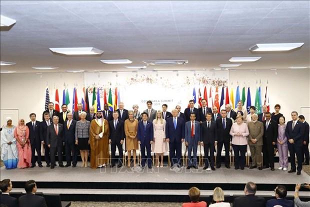 G20峰会:越南政府总理阮春福提出越南致力于蓝色大海的倡议 hinh anh 1