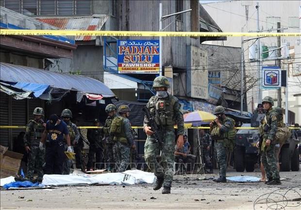 菲律宾发生自杀式爆炸事件 伤亡人数为16人 hinh anh 2