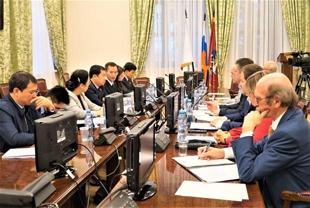 越南国会对外委员会代表团对越俄两国所签署各项国际条约执行情况进行监督 hinh anh 2