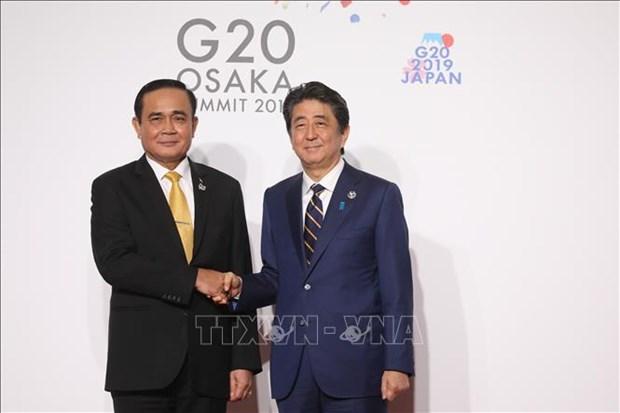 G20峰会:泰国与日本关系将继续稳定向前发展 hinh anh 1