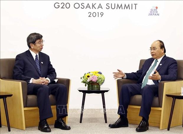 G20峰会:政府总理阮春福会见各国和国际组织领导人 hinh anh 3