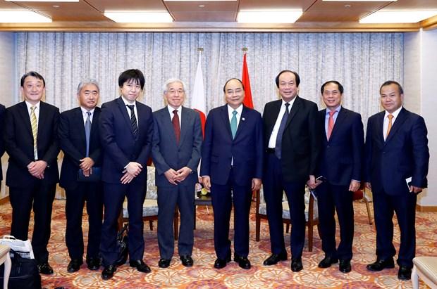 G20峰会:政府总理阮春福会见日本投资者 hinh anh 2