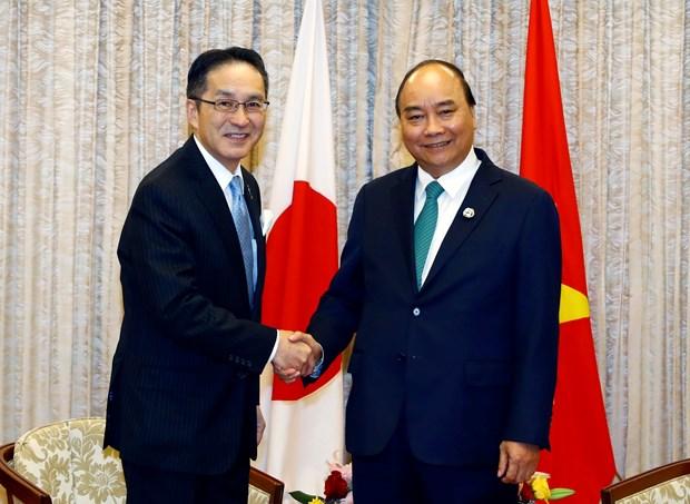 G20峰会:政府总理阮春福会见日本投资者 hinh anh 3