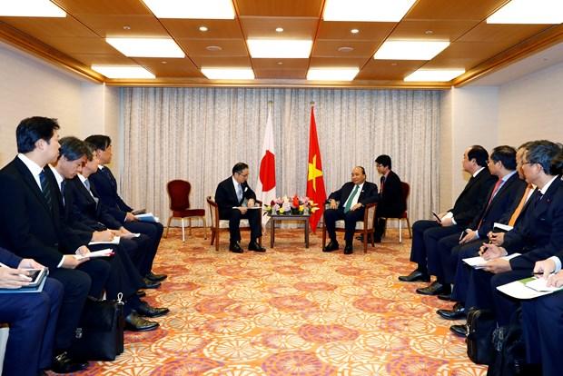 G20峰会:政府总理阮春福会见日本投资者 hinh anh 1