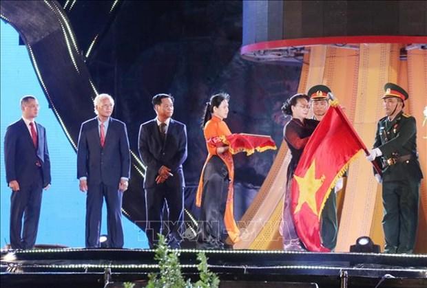 越南国会主席阮氏金银出席富安省建省30周年纪念典礼 hinh anh 2