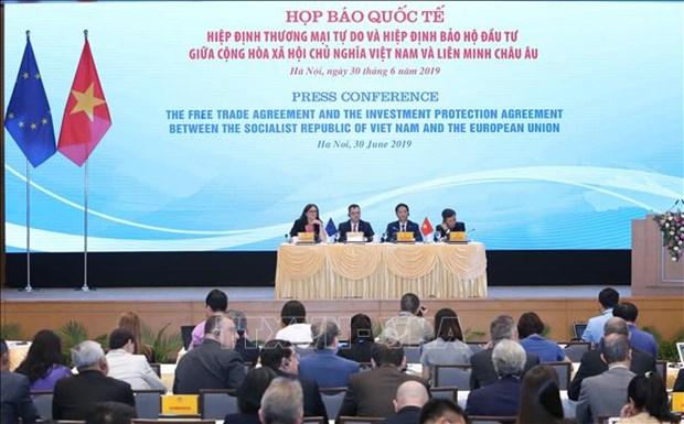 《越南与欧盟自由贸易协定》:越南政府将为企业获取经营机会创造便利条件 hinh anh 1