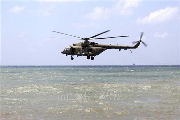 印度尼西亚动员力量寻找失联的MI-17直升机 hinh anh 1