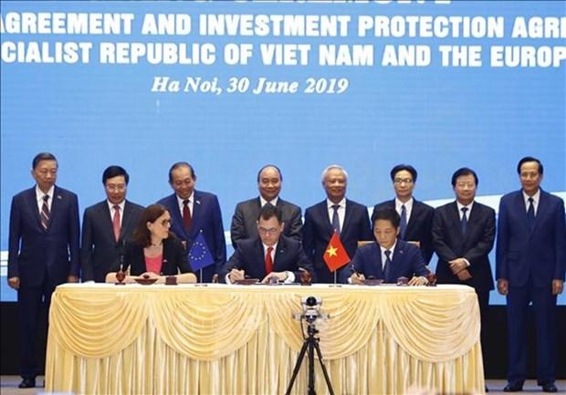 《越南与欧盟自由贸易协定》:最大限度争取利益(一) hinh anh 1