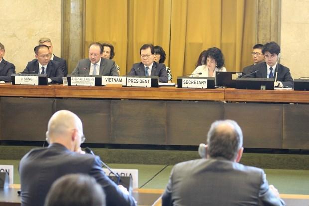 越南促进联合国裁军谈判会议框架内的讨论工作 hinh anh 1