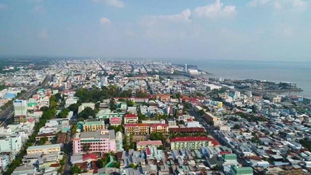 坚江省集中发展绿色增长的城市 hinh anh 1