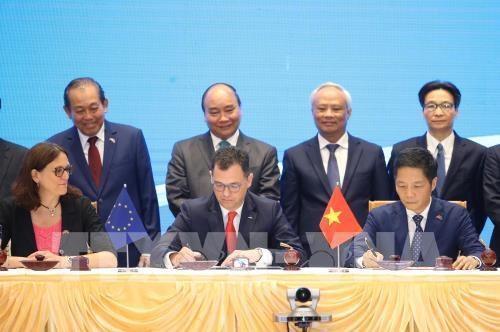 澳大利亚媒体报道关于越南与欧盟签署自由贸易协定的信息 hinh anh 1