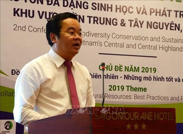 越南中部-西原地区保护生物多样性和可持续发展国际研讨会在岘港市举行 hinh anh 2