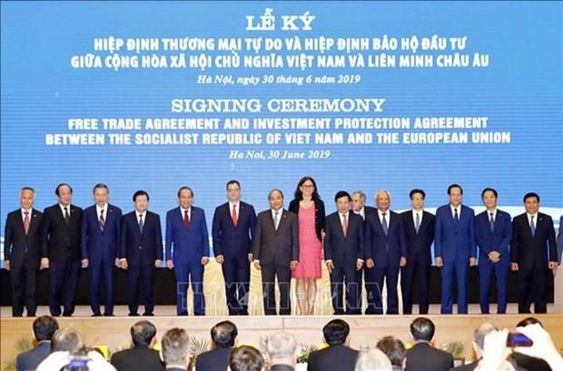 "EVFTA—— 越南与德国贸易的""催化剂"" hinh anh 1"