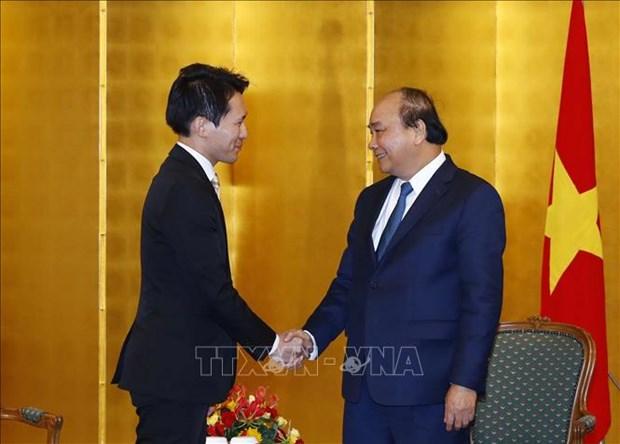越南政府总理会见日本部分地方政府领导 hinh anh 2