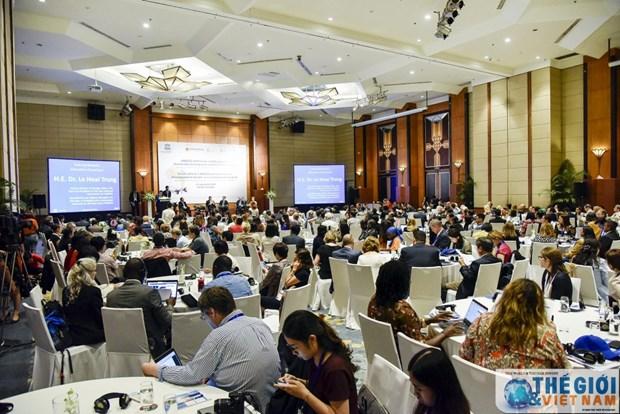 联合国教科文组织可持续发展教育和全球公民教育论坛在河内开幕 hinh anh 2