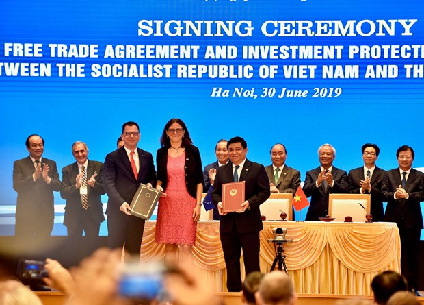 欧盟企业界希望《欧盟与越南自由贸易协定》尽早获得批准 hinh anh 1