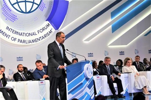 越南出席在俄罗斯举行的第二届议会制度发展论坛 hinh anh 2