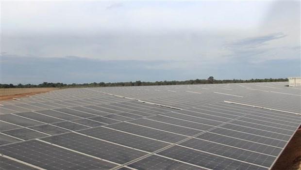 LIG广治太阳能发电厂竣工并投入运营 hinh anh 2