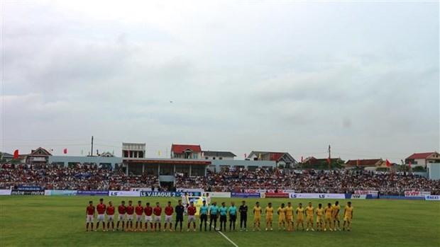 越南政府副总理王廷惠出席河静省体育场落成典礼 hinh anh 2