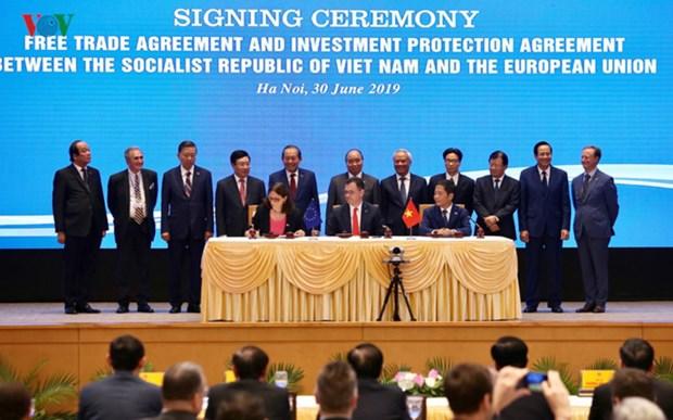 打开越南与欧盟的新合作阶段 hinh anh 1