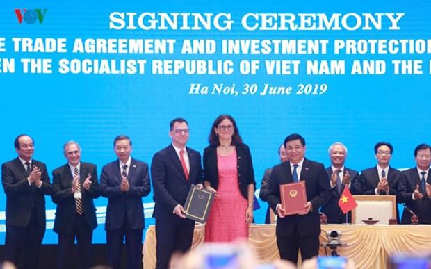 打开越南与欧盟的新合作阶段 hinh anh 2