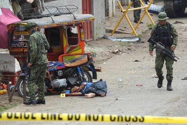 菲律宾一名枪手是该国南部上周爆炸案嫌疑人 hinh anh 1