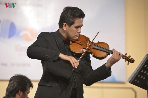 越南将首次举行2019年国际小提琴比赛和越南室内乐音乐会 hinh anh 2