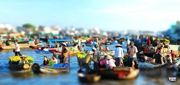 2019年盖朗水上集市文化旅游节将于本周末举行 hinh anh 2