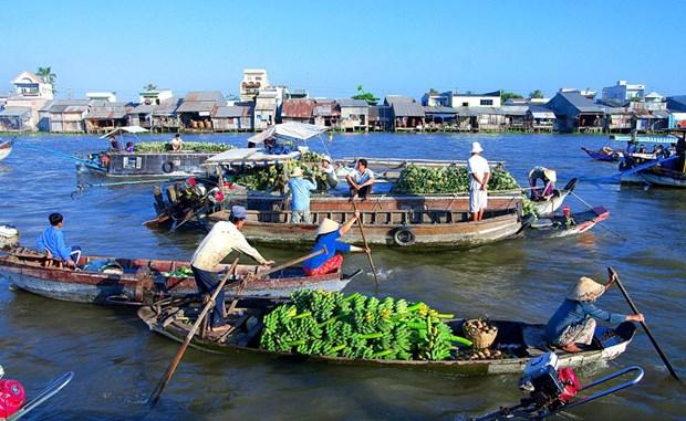 2019年盖朗水上集市文化旅游节将于本周末举行 hinh anh 1