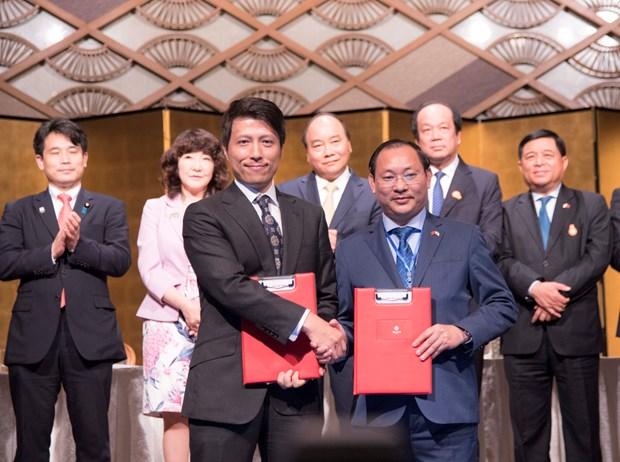 日本一家公司将对越南各房地产项目投资5000万美元 hinh anh 1