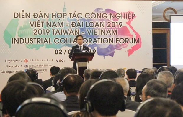 越南与中国台湾促进工业合作 hinh anh 1