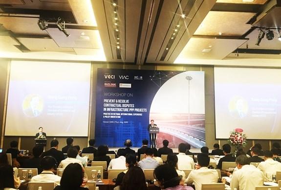 越南与韩国举行有关公私合作合同争端预防和解决的研讨会 hinh anh 1