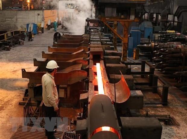 《越欧自由贸易协定》为越南钢铁产业开辟新市场 hinh anh 1