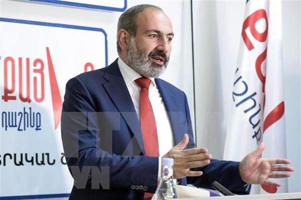 亚美尼亚总理开始对越南进行正式访问 hinh anh 1