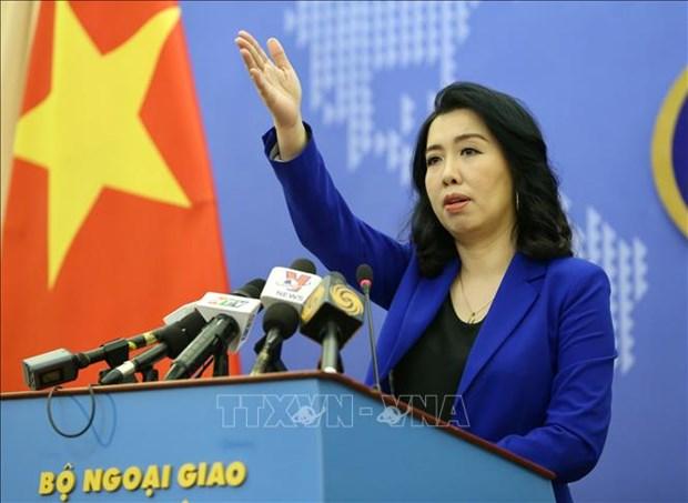 越南外交部发言人:东海上所有活动都需要在尊重各国主权和国际法基础上进行 hinh anh 1
