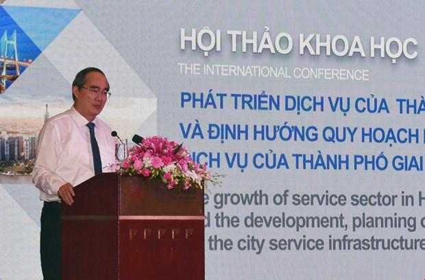 胡志明市展开2020-2030年服务基础设施规划 hinh anh 1