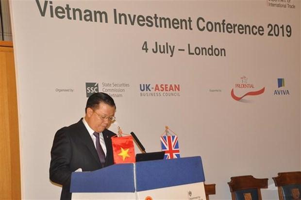 在英国举行的越南金融投资促进会获外国投资商的高度关注 hinh anh 1
