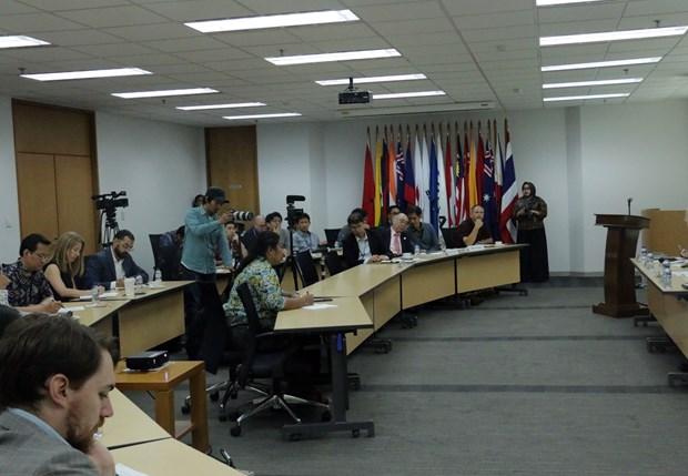 """""""东盟在印太地区扮演的角色""""新闻发布会在印度尼西亚举行 hinh anh 1"""