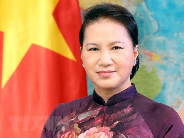 越南国会主席阮氏金银访问中国: 重视推动越中全面战略合作伙伴与传统友好关系发展 hinh anh 1